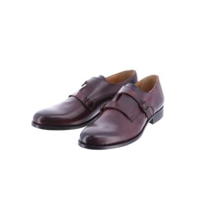 TAKA-Q / アラウンドザシューズ/around the shoes MADE IN ITALY クロスダブルモンクシューズ MEN シューズ > ドレスシューズ