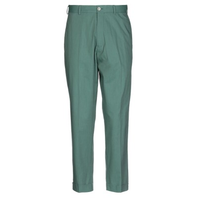 PT Torino パンツ グリーン 46 コットン 98% / ポリウレタン 2% パンツ