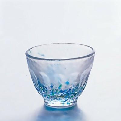 【日本製】花つづりシリーズ / 花つづり盃(CGT) (60ml) [6個入り]  アデリア