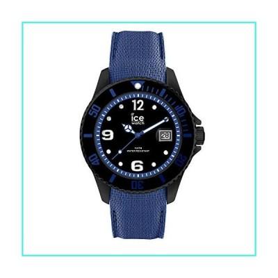 【新品】Ice-Watch ICE Steel Large Black Blue 44mm Men's Watch 015783(並行輸入品)