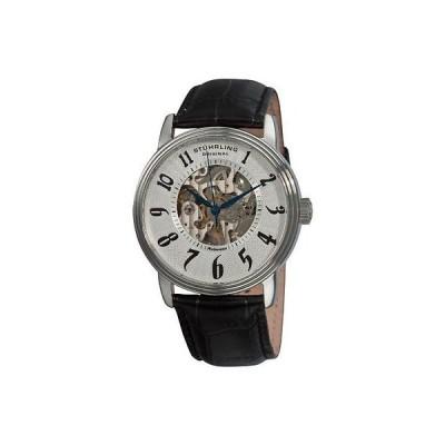 ストゥーリングオリジナル 腕時計 Stuhrling Original 707G 33152 メンズ Romeo オートマチック スケルトン シルバー ダイヤル 腕時計