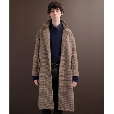 EMMA CLOTHES / ビーバーメルトン オーバーサイズ ロングダブルチェスターコート EMMA CLOTHES 2020-2021WINTER MEN ジャケット/アウター > チェスターコート