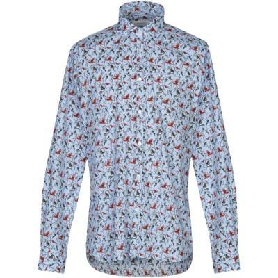 アリーニ AGLINI シャツ ライラック 44 コットン 97% / ポリウレタン 3% シャツ
