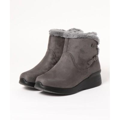Xti Shoes / 【Alufort】 快適歩行 ファー使い切替ブーツ WOMEN シューズ > ブーツ