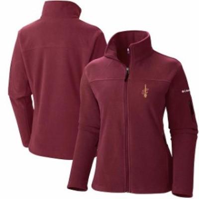 Columbia コロンビア スポーツ用品  Columbia Cleveland Cavaliers Womens Wine Give & Go Full-Zip Jacket
