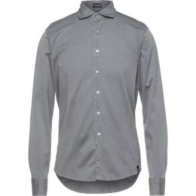 ドルモア DRUMOHR メンズ シャツ トップス Solid Color Shirt Grey