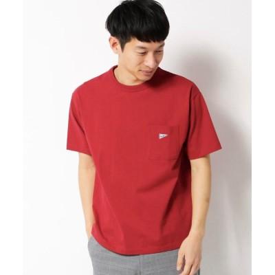 THE SHOP TK(Men)(ザ ショップ ティーケー(メンズ)) 【100回洗っても型崩れしにくい】タフな半袖Tシャツ/