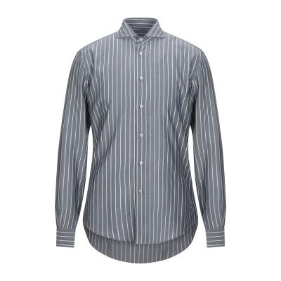 ブライアン デールズ BRIAN DALES シャツ グレー 40 コットン 100% シャツ