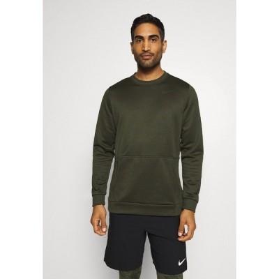 ナイキ パーカー・スウェットシャツ メンズ アウター CREW STANDARD FIT - Sweatshirt - sequoia/black
