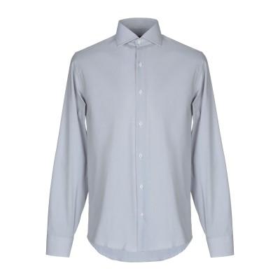 ALV ANDARE LONTANO VIAGGIANDO シャツ グレー 45 コットン 100% シャツ
