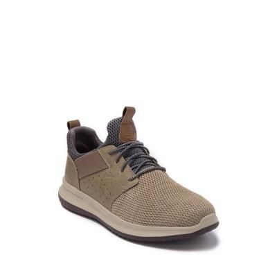 スケッチャーズ メンズ スニーカー シューズ Delson Camben Sneaker TPE-TAUPE