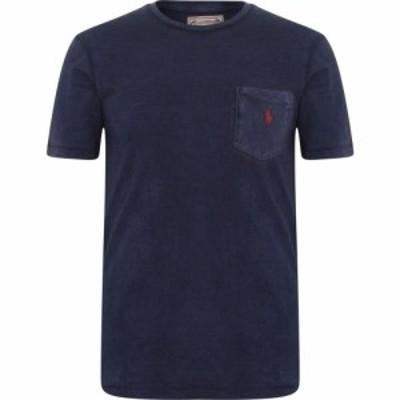 ラルフ ローレン Polo Ralph Lauren メンズ Tシャツ ポケット トップス pocket t shirt Cruise Navy