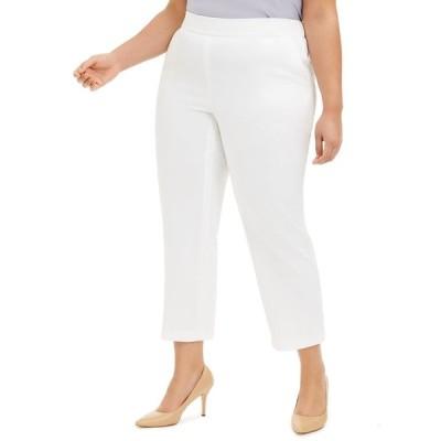 カスパー カジュアルパンツ ボトムス レディース Plus Size Vanilla Ice Pull-On Pants Vanilla Ice