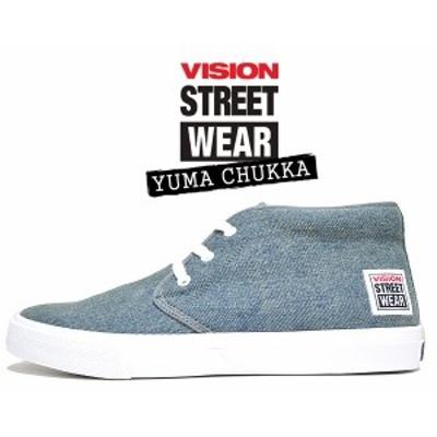 【ヴィジョン ユーマ チャッカ 】VISION STREET WEAR YUMA CHUKKA DENIM vsw-6354-116  スニーカー スケート ビジョン ストリート ウェア