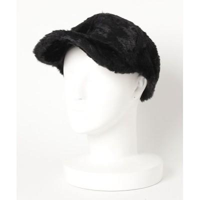 kana / ふわふわファーキャップ WOMEN 帽子 > キャップ