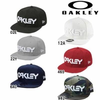 即日出荷 OAKLEY オークリー NewEra キャップ 帽子 BIBロゴ MARK II NOVELTY SNAP BACK 911784 oak19ss