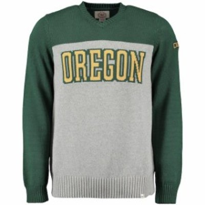 47 フォーティーセブン スポーツ用品  47 Oregon Ducks Gray Drop Back Sweater