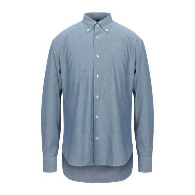 ダノリス DANOLIS シャツ ブルー 44 コットン 100% シャツ