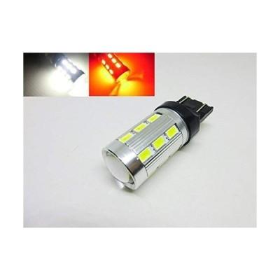 T20 ツインカラー LED バルブ のみ 1球 白 赤 交換用 バックランプ ポジション ウィポジ テール