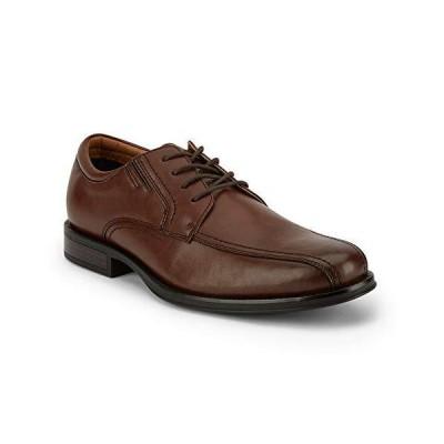 Dockers Mens Geyer Dress Run Off Oxford Shoe, Brown, 11.5 M