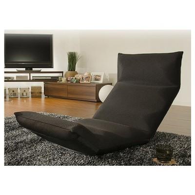 日本製 国産 座椅子 リクライニング コンパクト 和楽の雲LIGHT下 座椅子 下タイプ 和楽 シンプル おしゃれ A448 代引不可