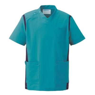 971 KAZEN スクラブ(男女兼用) ナースウェア・白衣・介護ウェア