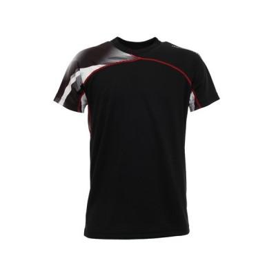 ピージー(PG) ドライプラス バレーシャツ 761PG0ES8208 BLK 【バレーボールウェア スポーツウェア メンズ】 (メンズ)