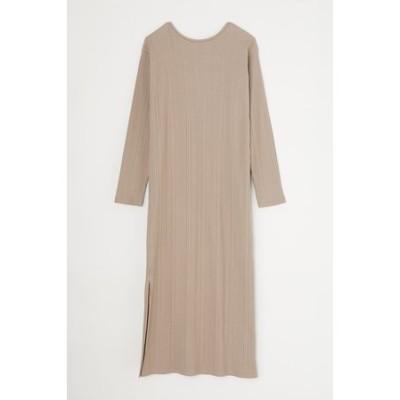 LONG RIB ドレス