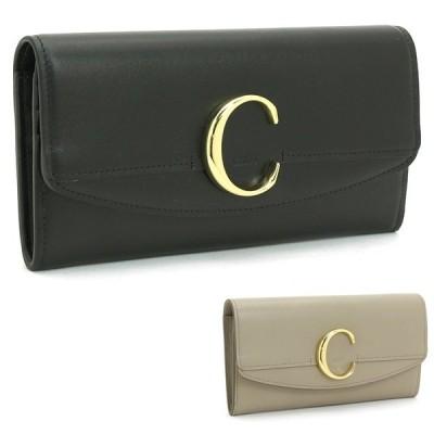 クロエ Chloe クロエシー CHLOE C 長財布ファスナー CHC19SP055A37