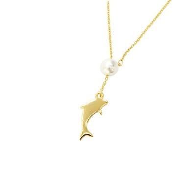 リル エクステンション ネックレス ドルフィン ゴールド Lilou EXTENTION NECKLACE dolphin gold / おしゃれ