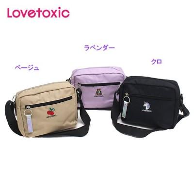 ラブトキシック Lovetoxic 2020秋冬 ワンポイント刺しゅうショルダーバッグ 8303408