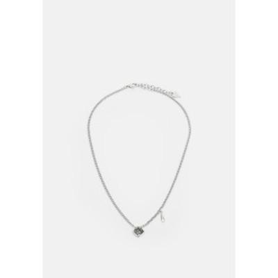 ゲス レディース ネックレス・チョーカー・ペンダントトップ アクセサリー LADY LUXE - Necklace - silver-coloured silver-coloured