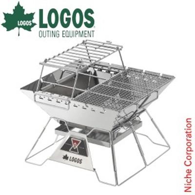 ロゴス 焚き火台 The ピラミッドTAKIBI L コンプリート LOGOS 81064166 キャンプ バーベキューコンロ アウトドア 焚火台 BBQ たき火台 バ