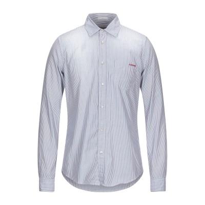 ロイ ロジャース ROŸ ROGER'S シャツ ダークブルー L コットン 100% シャツ