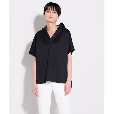 LAUTREAMONT ONLINE SHOP / Vネック高機能プルオーバー WOMEN トップス > Tシャツ/カットソー