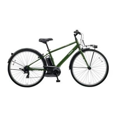 PANASONIC BE-ELVS772-G グリーン ベロスター [電動アシスト自転車(700C・外装7段変速)] メーカー直送