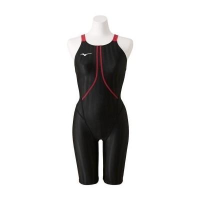 【特別価格・30%OFF】ミズノ 競泳水着 N2MG822397 サイズ女L ハーフスーツ FINA承認