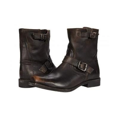 Frye フライ メンズ 男性用 シューズ 靴 ブーツ ライダーブーツ Smith Engineer - Black Vintage Veg Tan