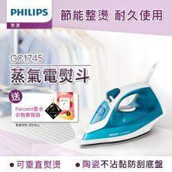 Philips 飛利浦 蒸氣電熨斗GC1745 (藍白色)