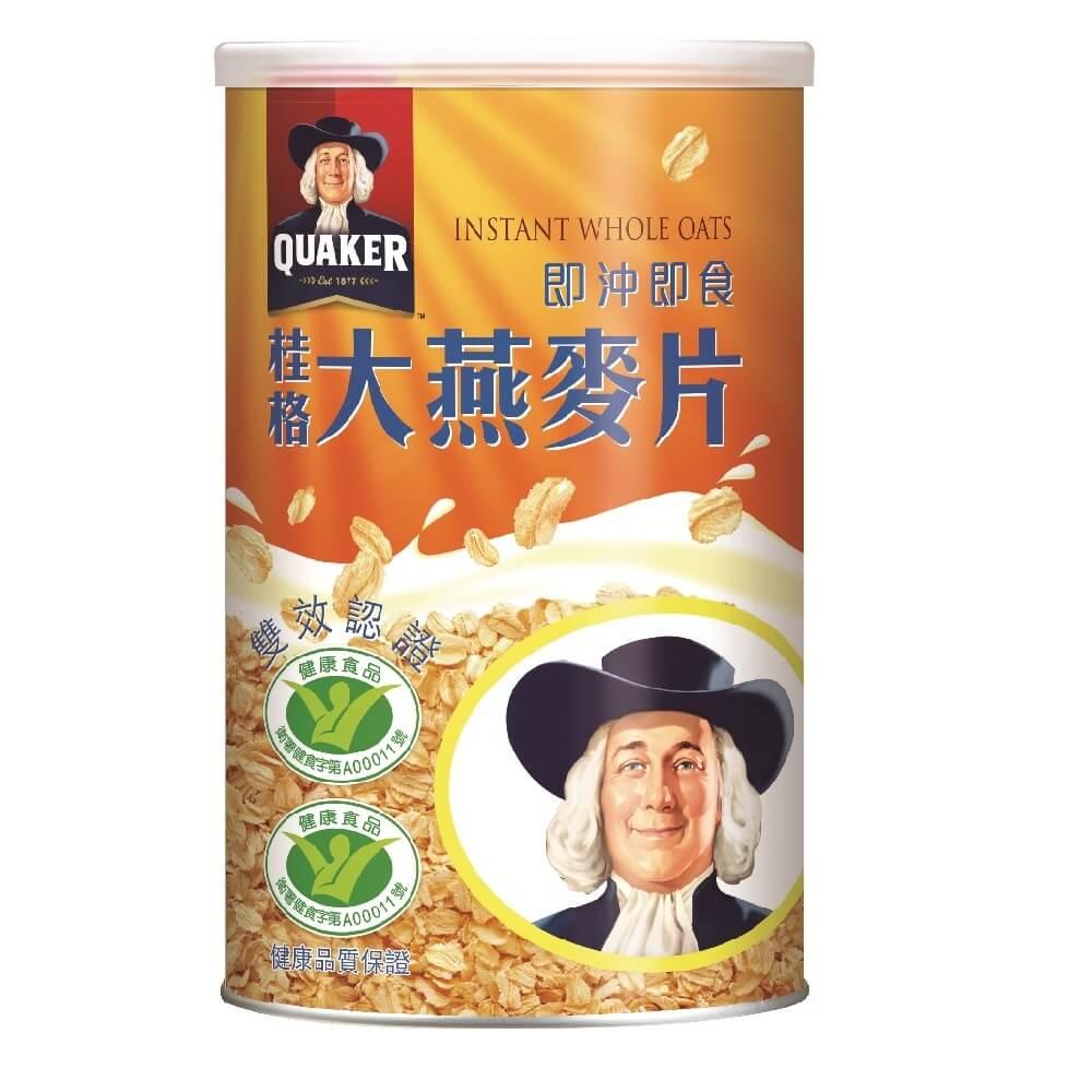 桂格 即沖即食大燕麥片(700g/罐)