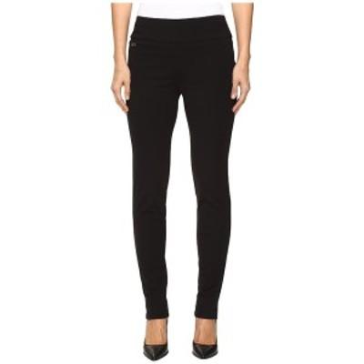 リセットエルモントリオール レディース カジュアルパンツ ボトムス Kathryne Fabric Slim Pants Black