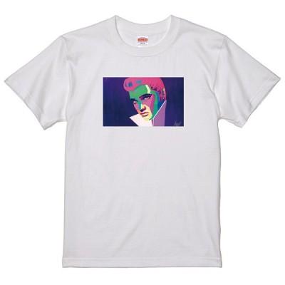 レインボーアート Tシャツ エルビスプレスリー 横 LC18