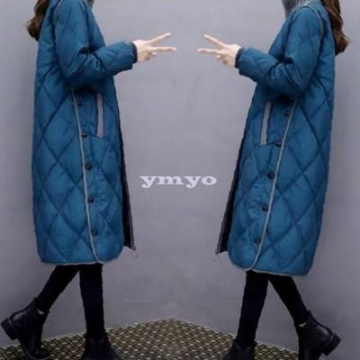 中綿ダウンコート ロングコート 中綿コート レディース 冬服 レディース 暖かい おしゃれ