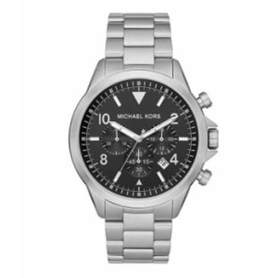 マイケルコース メンズ 腕時計 アクセサリー Gage Chronograph Stainless Steel Watch Silver