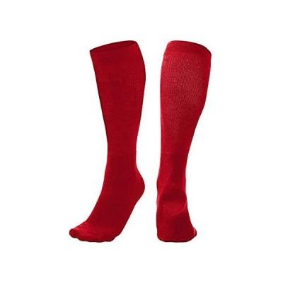 CHAMPRO Multi-Sport Socks, Single Pair, Adult Small, Scarlet, (Model: AS2SC