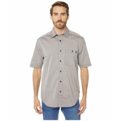 ウルヴァリン メンズ シャツ トップス Grayson Short Sleeve Shirt Gray Chambray