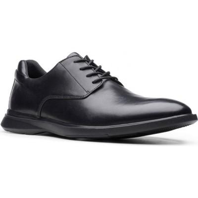 クラークス CLARKS メンズ 革靴・ビジネスシューズ ダービーシューズ シューズ・靴 Un Lipari Park Plain Toe Derby Black Leather