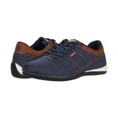 Levi's(R) Shoes リーバイス メンズ 男性用 シューズ 靴 スニーカー 運動靴 Rio 3 Tumbled Wax - Navy/Tan