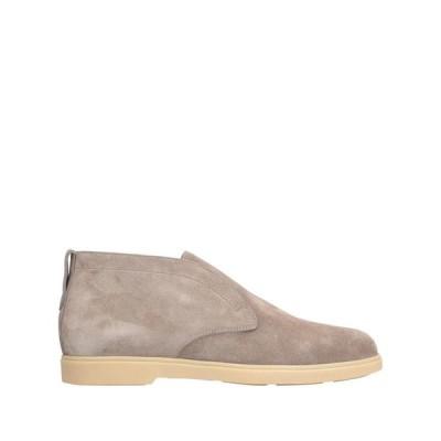 サントーニ SANTONI  メンズ ショートブーツ 靴 グレー