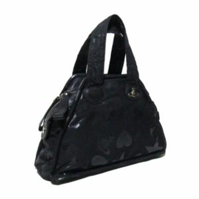 廃盤 Vivienne Westwood ヴィヴィアンウエストウッド スターオーブハートヤスミンバッグ (黒 ブラック ORB 鞄) 127400 【中古】